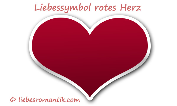 rotes herz