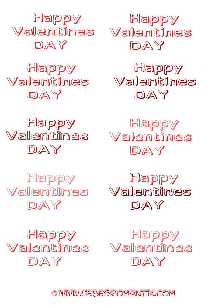 valentinstag text vorlagen zum ausdrucken - liebesromantik
