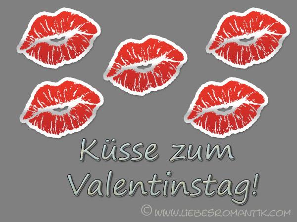 Kusse zum valentinstag bilder